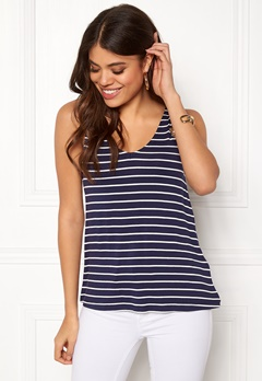Happy Holly Ella top Navy / Striped Bubbleroom.se