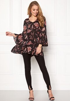 Happy Holly Ellie tunic Black/Patterned Bubbleroom.se