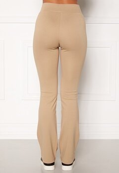 Happy Holly Elora trousers Beige Bubbleroom.se