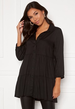Happy Holly Elsie Tunic Black Bubbleroom.se