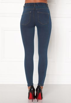 Happy Holly Elwira jeggings Dark denim Bubbleroom.se