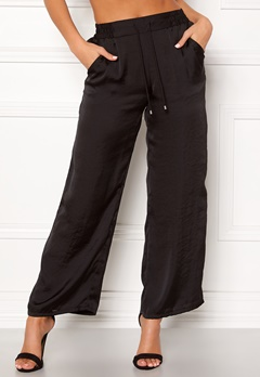 Happy Holly Embla trousers Black Bubbleroom.se