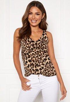 Happy Holly Embla singlet Leopard Bubbleroom.se