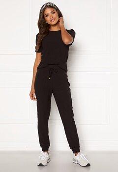 Happy Holly Emilia pants  Black Bubbleroom.se