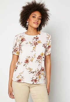 Happy Holly Emily woven top Winter white / Patterned Bubbleroom.se