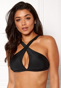 Happy Holly Emma bikini bra Black Bubbleroom.se