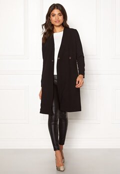 Happy Holly Emma coat Black Bubbleroom.se