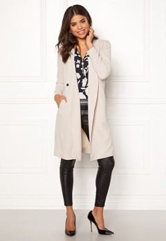 Happy Holly Emma coat Light beige Bubbleroom.se
