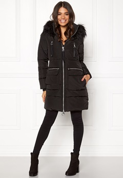 Happy Holly Emmie jacket Black Bubbleroom.se