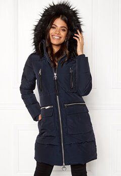 Happy Holly Emmie jacket Dark blue Bubbleroom.se