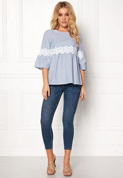 Happy Holly Emmy blouse Striped Bubbleroom.fi