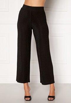 Happy Holly Estelle lurex pants Black Bubbleroom.se