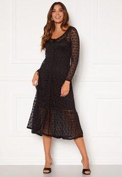 Happy Holly Evelina lace dress Black Bubbleroom.se