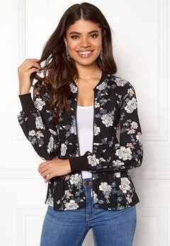 Happy Holly Fannie jacket Black / Patterned Bubbleroom.se