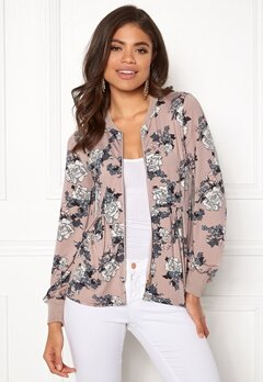 Happy Holly Fannie jacket Light pink / Patterned Bubbleroom.se
