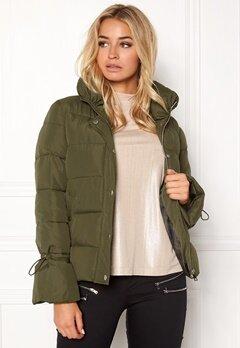 Happy Holly Fanny jacket Khaki green Bubbleroom.se
