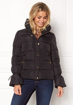 Happy Holly Fanny jacket Black Bubbleroom.fi