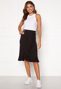 Happy Holly Farah skirt Black Bubbleroom.se
