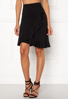Happy Holly Farah skirt Black Bubbleroom.se