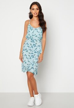 Happy Holly Farah skirt Light blue / Patterned Bubbleroom.se