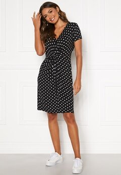 Happy Holly Fiona dress Black / Dotted Bubbleroom.se