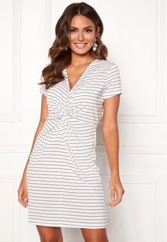 Happy Holly Fiona dress White / Striped Bubbleroom.se