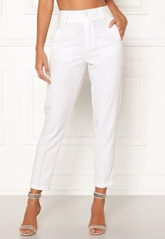 Happy Holly Florence trousers White Bubbleroom.se