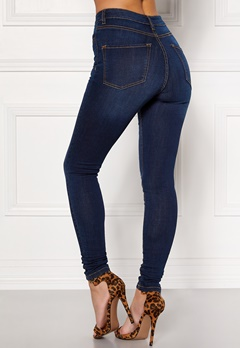 Happy Holly Francis high waist Farkut Tumma denim Bubbleroom.fi