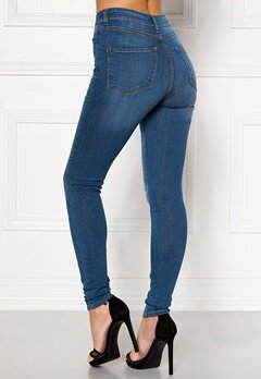 Happy Holly Francis high waist Jeans Mellandenim Bubbleroom.se