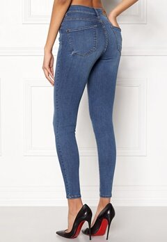 Happy Holly Francis jeans Medium blue Bubbleroom.fi
