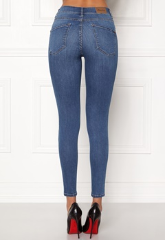 Happy Holly Francis jeans Medium blue Bubbleroom.se