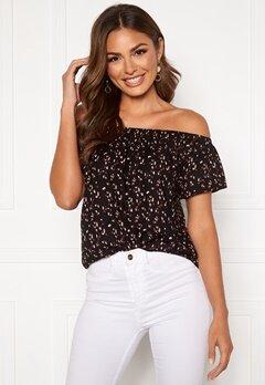 Happy Holly Fredrika singoalla blouse Black / Patterned Bubbleroom.se