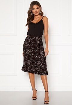 Happy Holly Fredrika skirt Black / Patterned Bubbleroom.se