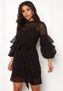 Happy Holly Gabriella dress Black Bubbleroom.se