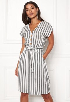Happy Holly Gisela dress Striped Bubbleroom.se