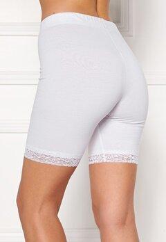 Happy Holly Greta Bike shorts White Bubbleroom.fi
