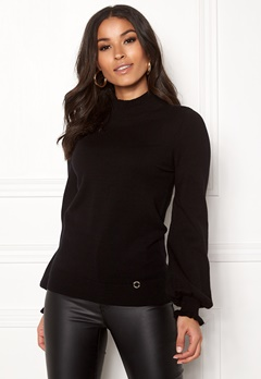 Happy Holly Haddie sweater Black Bubbleroom.se