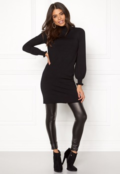 Happy Holly Haddie sweater dress Black Bubbleroom.se
