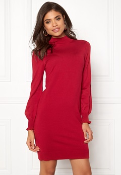 Happy Holly Haddie sweater dress Red Bubbleroom.se