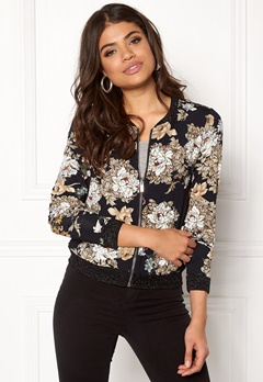 Happy Holly Hanna bomber jacket Patterned Bubbleroom.se