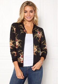 Happy Holly Hanna bomber jacket Black / Patterned Bubbleroom.fi
