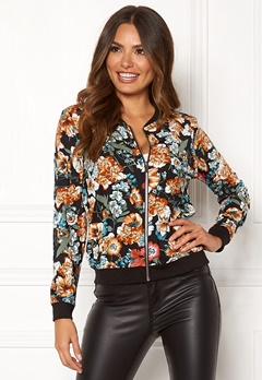 Happy Holly Hanna jacket Black / Patterned Bubbleroom.se