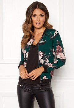 Happy Holly Hanna jacket Dark green / Patterned Bubbleroom.se