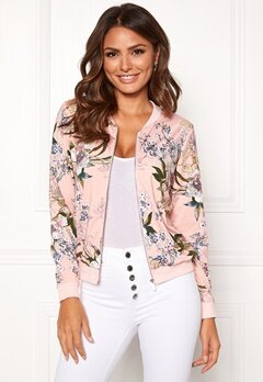 Happy Holly Hanna jacket Dusty pink / Patterned Bubbleroom.se