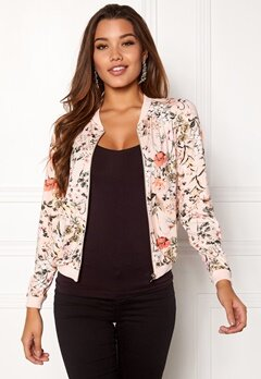 Happy Holly Hanna jacket Pink / Patterned Bubbleroom.se