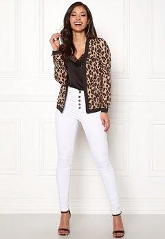 Happy Holly Hannele jacket Leopard Bubbleroom.se