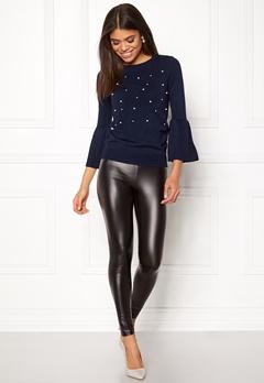 Happy Holly Hannie sweater Dark blue Bubbleroom.se