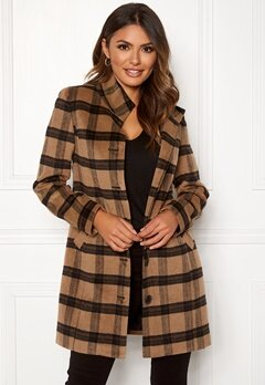 Happy Holly Harper coat Checked Bubbleroom.se