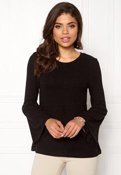 Happy Holly Hattie sweater Black Bubbleroom.no