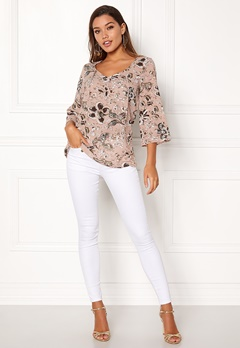 Happy Holly Heather blouse Pink / Patterned Bubbleroom.fi